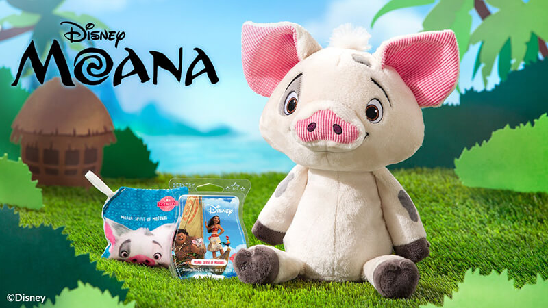Pua the Pig and Spirit of Motunui Scent Pak and Scentsy Bar