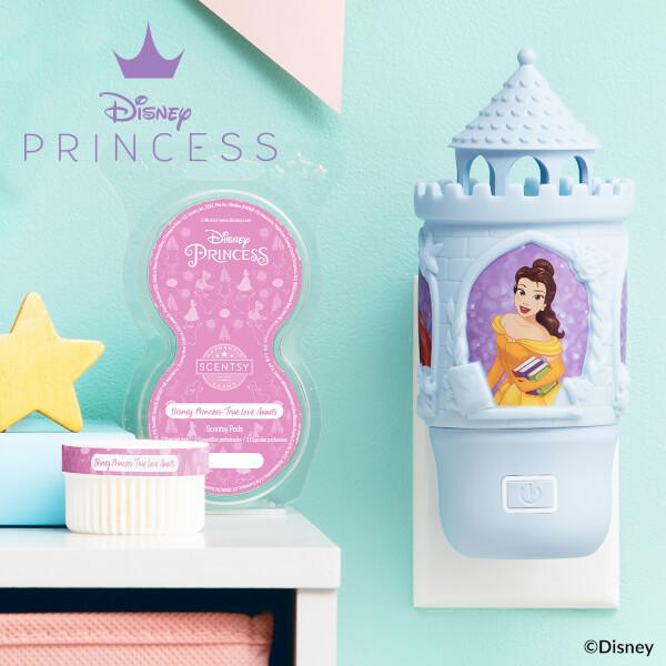 Disney Princess-Wall Fan Diffuser - True Love Awaits