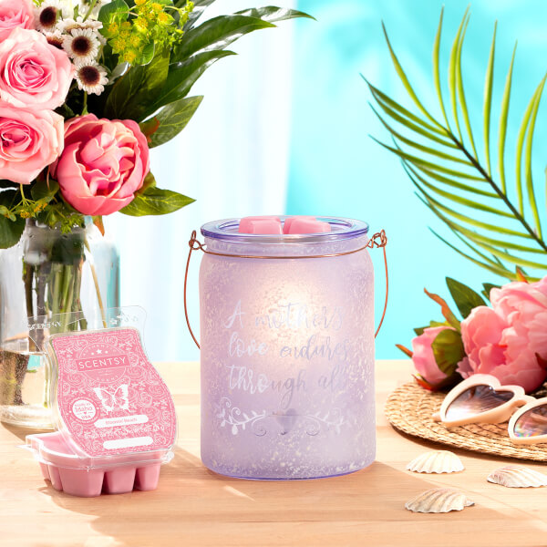A Mother's Love Warmer and Bloomin' Beach Scentsy Wax Bar
