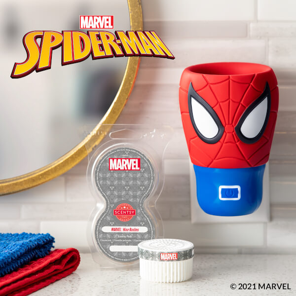 Spider-Man Wall Fan Diffuser - Nine Realms