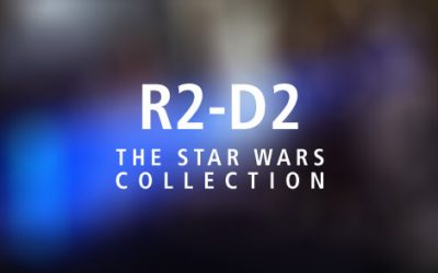 NEW R2-D2 Warmer with Princess Leia Projection!