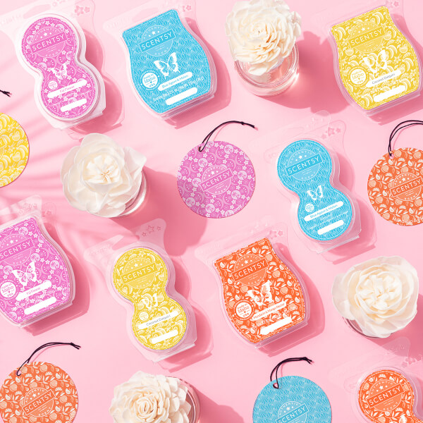 2021 Summer Collection Scent Bars, Pods, Circles, Fragrance Flowers