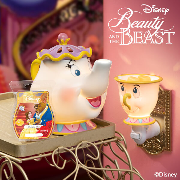 Beauty and the Beast - Mrs. Potts - Chip - The Last Petal Bar