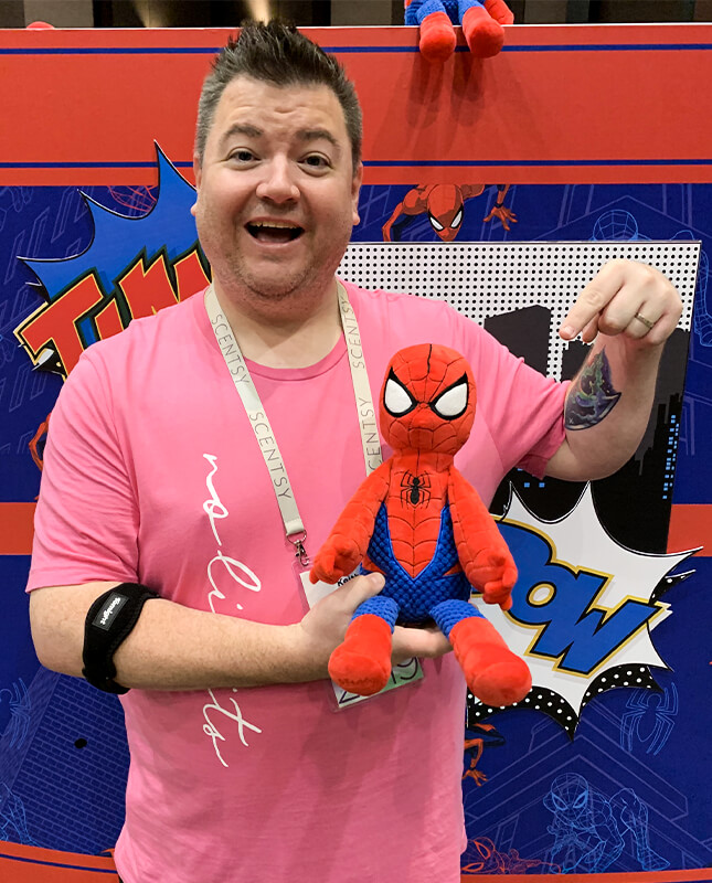 Keith and Spider-Man