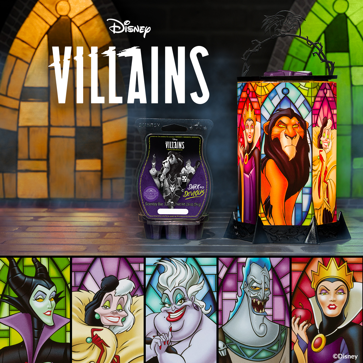 Disney Villains: All the Rage & Disney Villains: Dark and Devious
