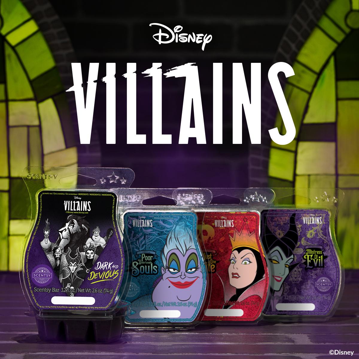 Disney Villains: Dark and Devious