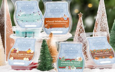 Enjoy the Scents of the Season Wax Collection!